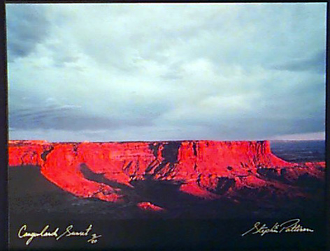 Canyonlands Sunset  Radiant Earth Vol 11 3/20