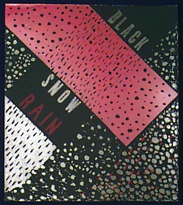 Red  Rain,  Black  Snow  (Diptych  Right  Side)