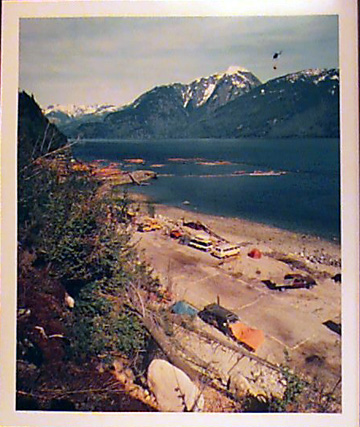 Helicopter Camp, Butle Inlet,  BC